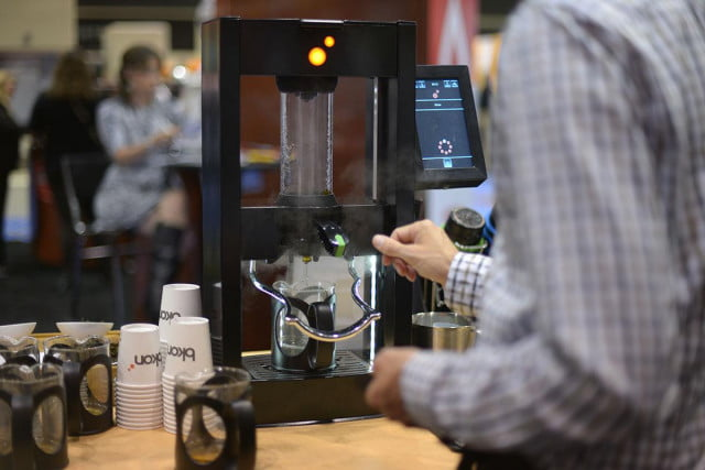 k brewer uses vacuum chamber make perfect cup tea bkon