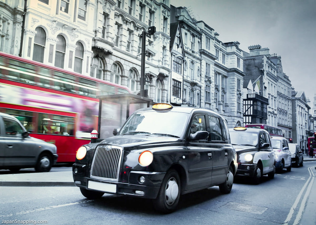 london black cab demo uber