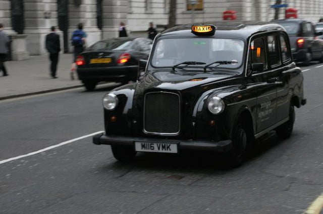 uber registrations jump  percent london cabbie protests cripple traffic black cab