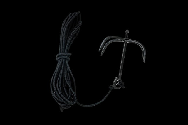 Black Ninja Folding Grappling Hook