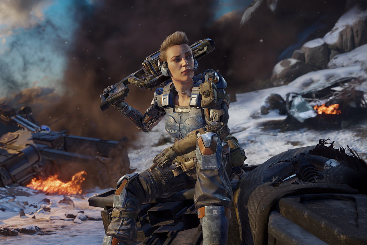 abby brammell first female call of duty black ops  specialist battery