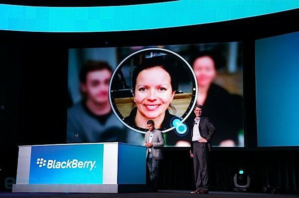 BlackBerry 10 timeline lens