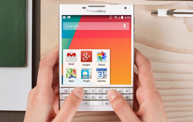is blackberry prepping the launch of its first ever android handset device