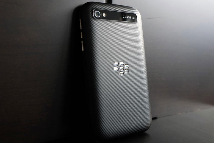 blackberry classic review back angle