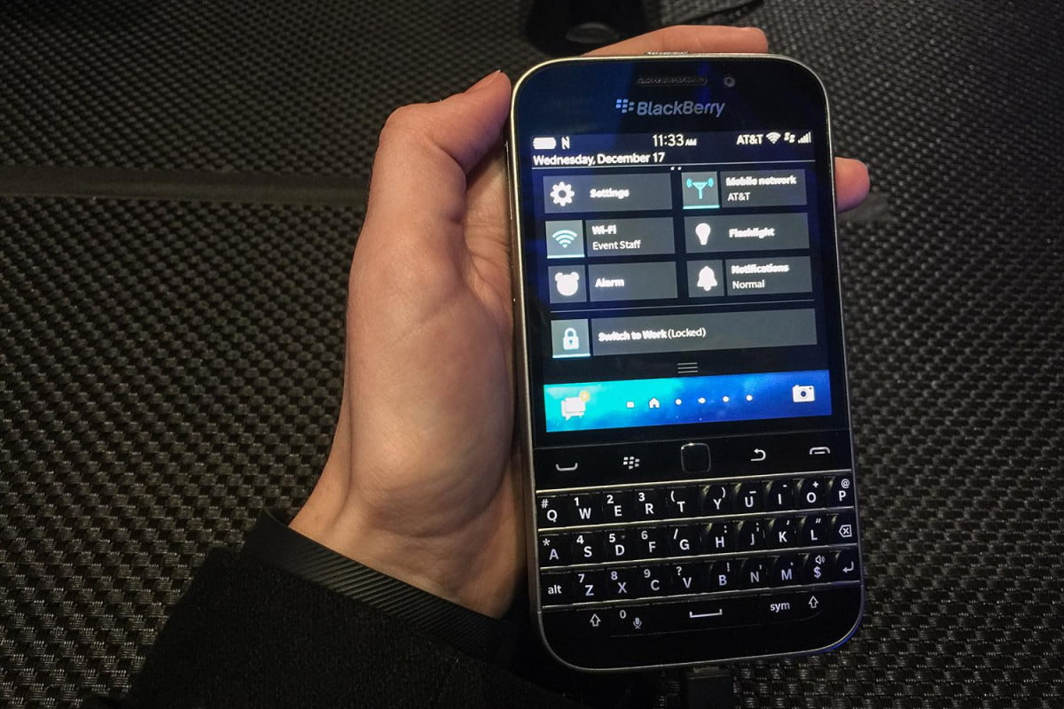 sony old blackberry phones hack classic hands on