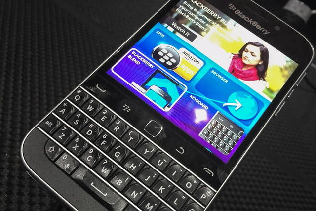 blackberry to cease production of classic