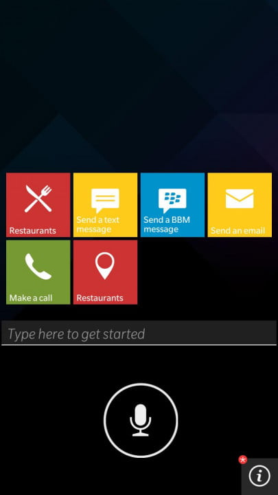blackberry leap smartphone review screenshot grid