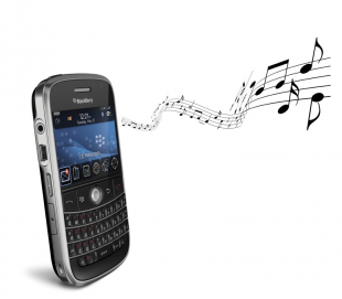 blackberry music