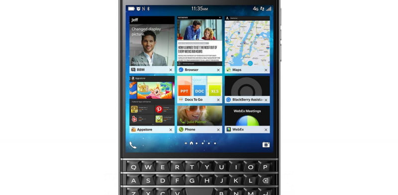 blackberry passport phone review press image