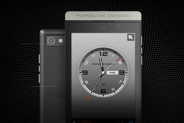 blackberry launches porsche p  smartphone design