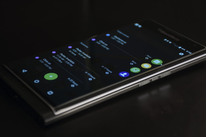 blackberry priv review productivity tab