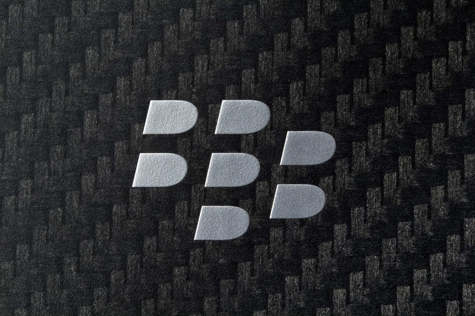 BlackBerry Q10 review blackberry logo