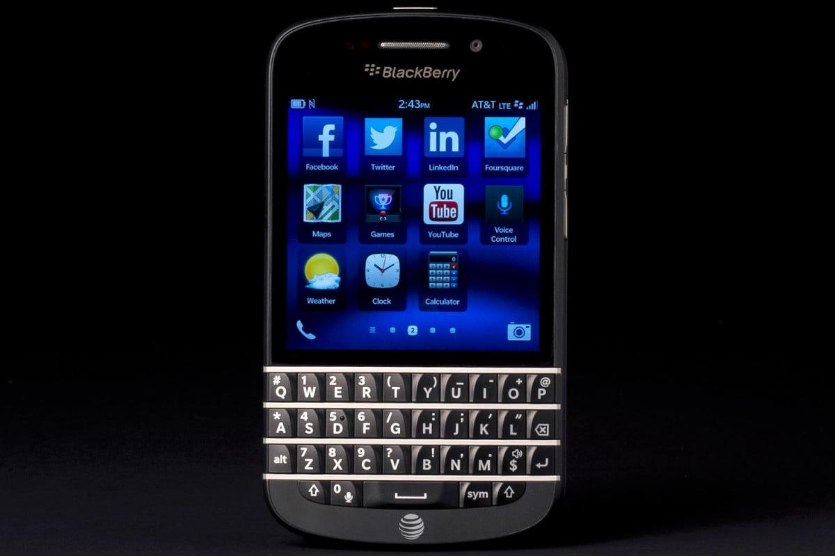 blackberry q  problems review front apps