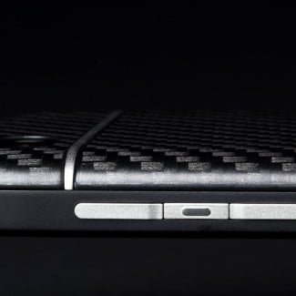 BlackBerry Q10 review macro front profile