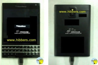 BlackBerry Windemere Leak