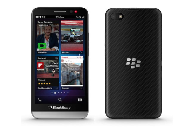 blackberry z  features release
