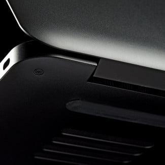 Blade laptop review back corner angle