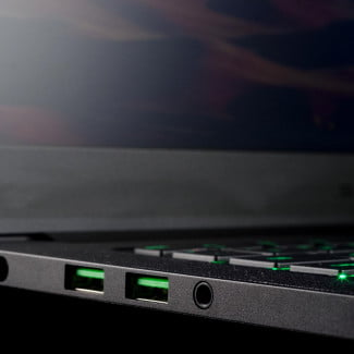 Blade laptop review USB ports