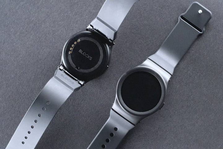 blocks modular smartwatch video news front rear