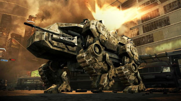 Call of Duty: Black Ops II mech