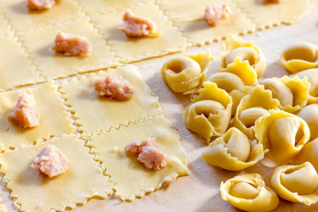Blow your dinner guests away with homemade tortellini