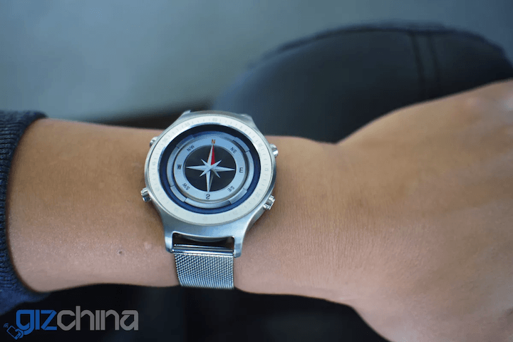 bluboo xwatch smartwatch news compass