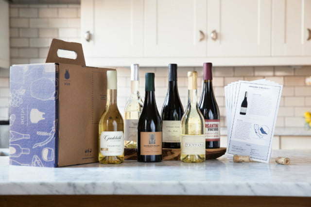 blue apron to deliver smaller bottles of wine with meals