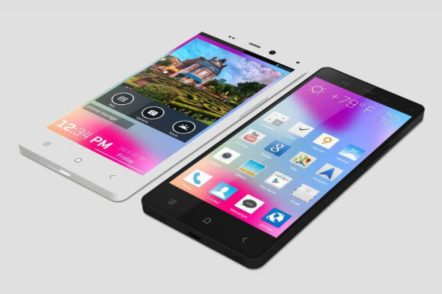 blu unveils life pure smartphone with  inch p display and mp camera blue