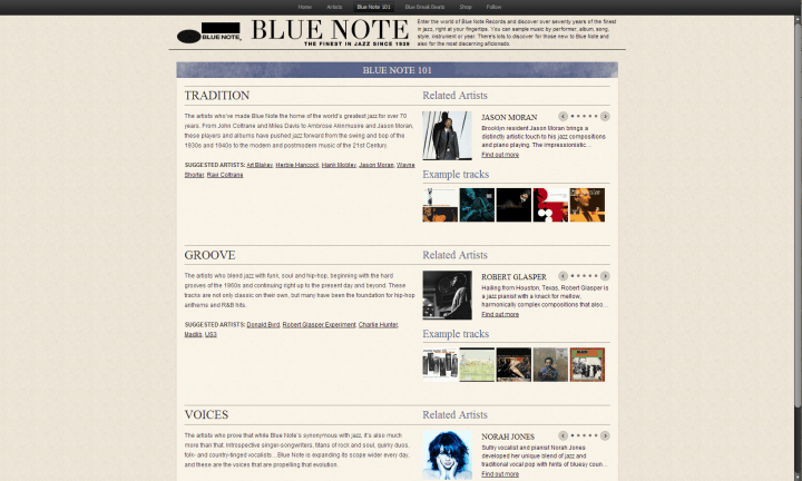best spotify apps blue note