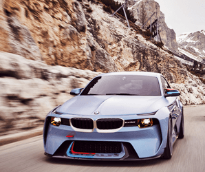 BMW gets nostalgic with its 2002 Hommage concept