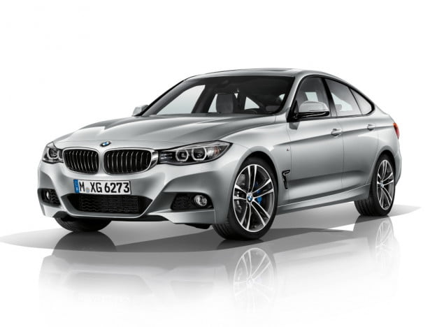 BMW 3 Series GT front three quarter