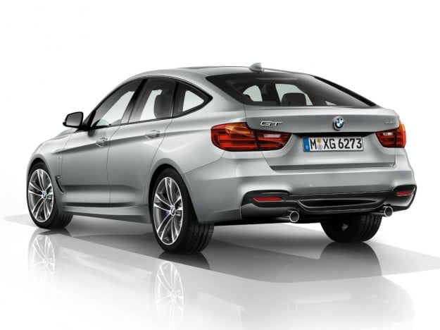 BMW 3 Series GT rear three quarter