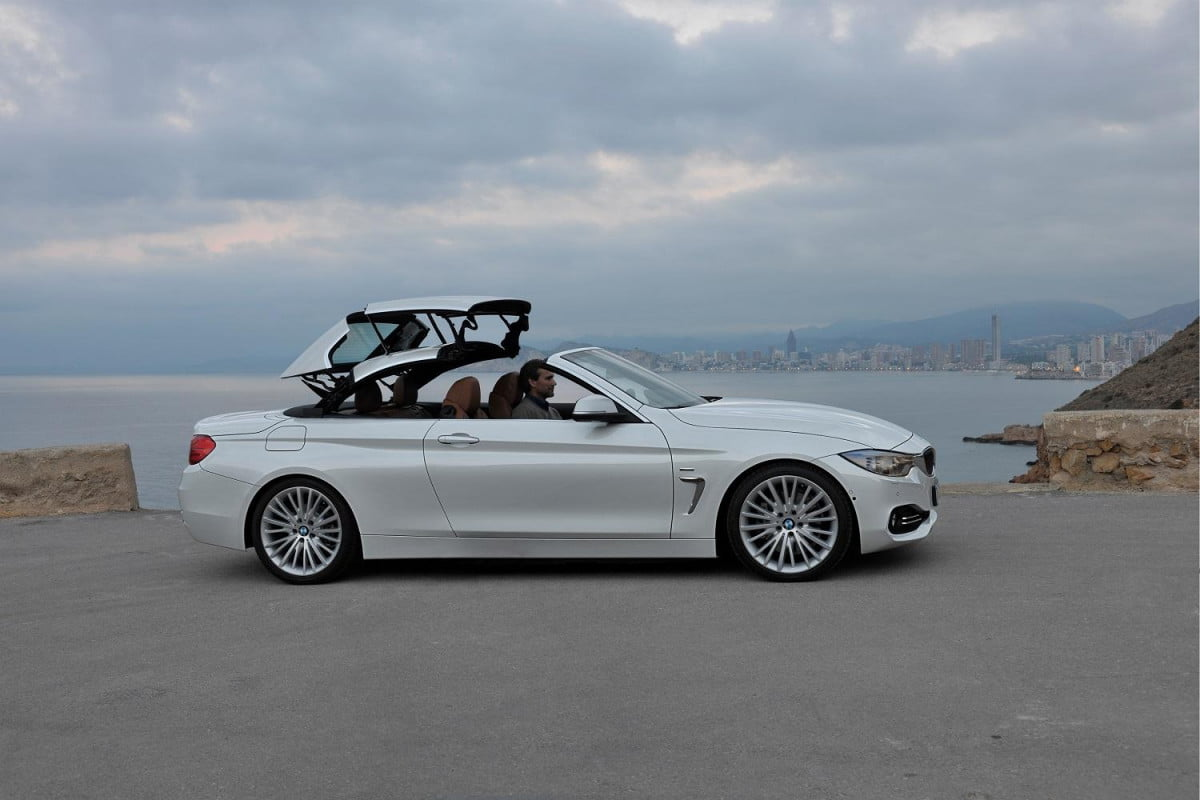 bmw series convertible news rumors specs top in action