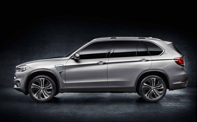 frankfurt  bmw x edrive is a sensible counterpart to the flashy i motor show preview concept plug in hybrid