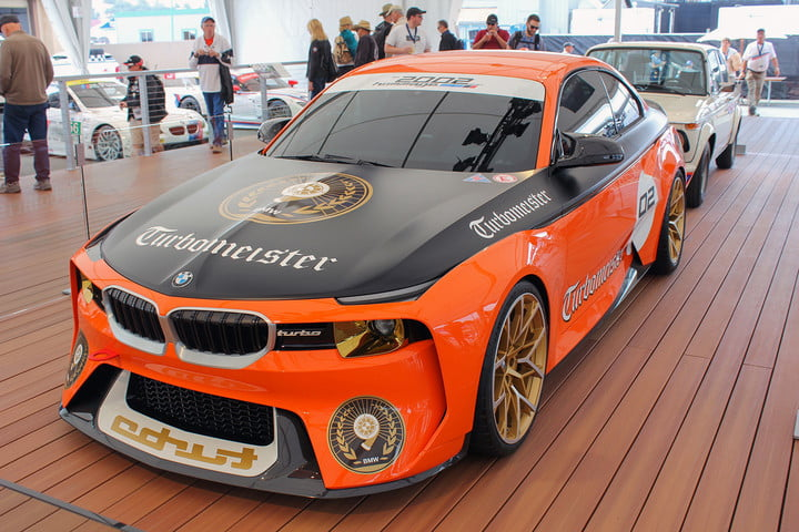 monterey car week pebble beach concours delegance  bmw hommage