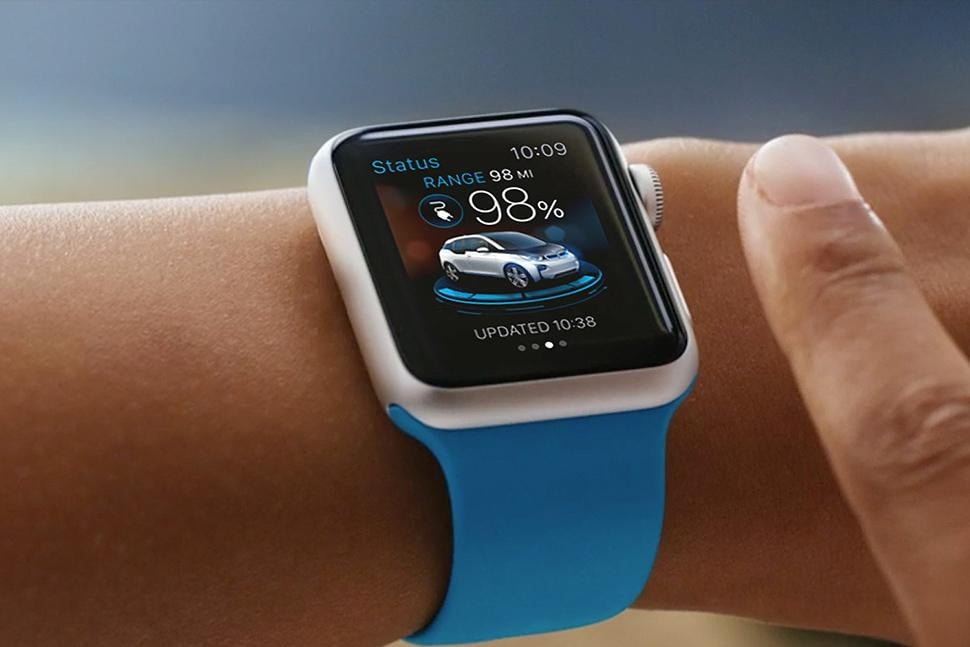 Brilliant BMW I Remote Will Be First Car App For Apple Watch