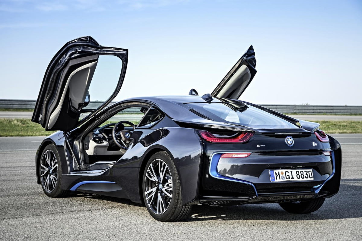 before the bmw i  was a hybrid it v and cylinder backend