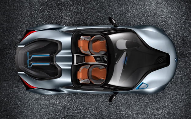 BMW i8 Concept Spyder top view