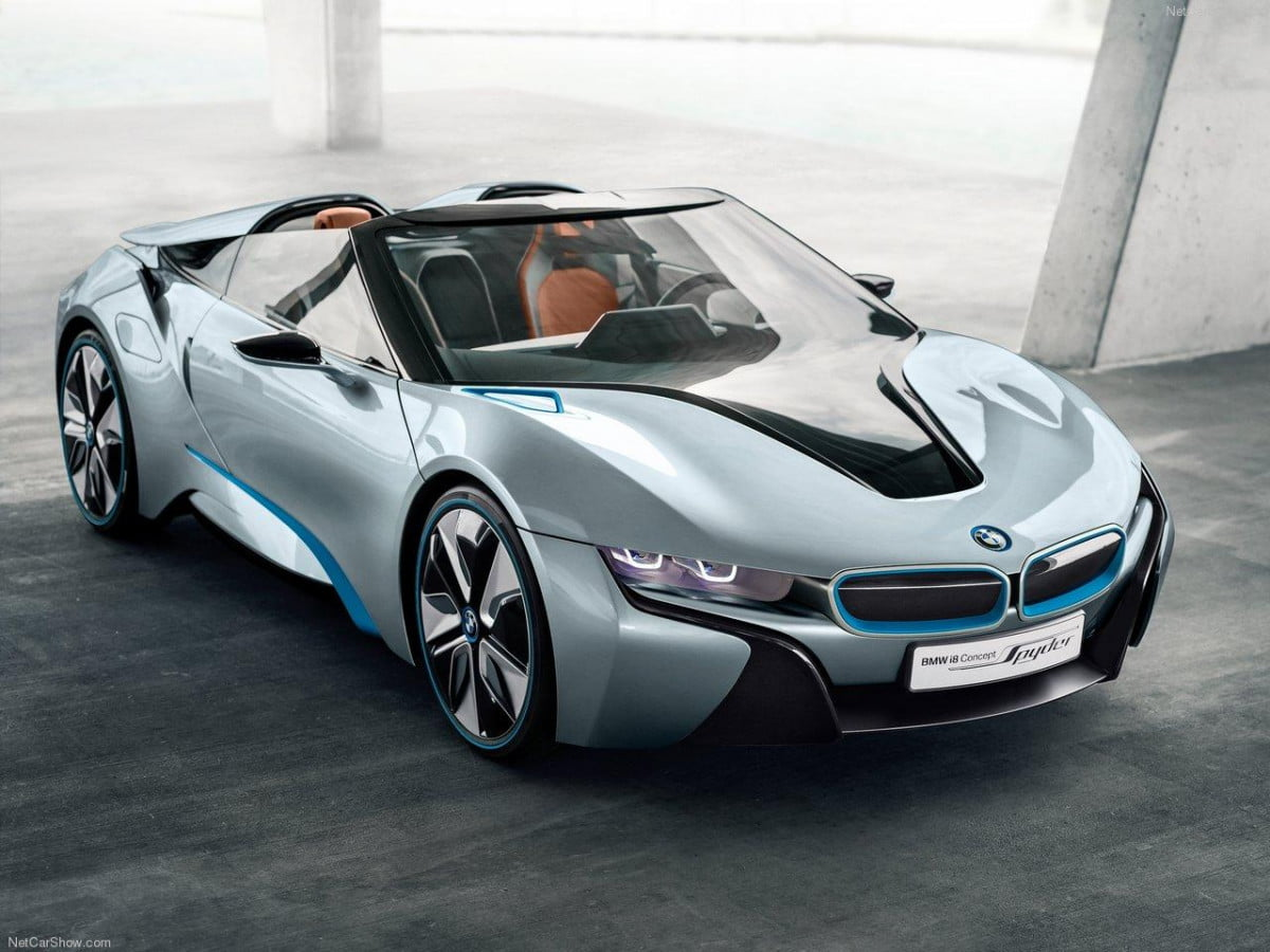 bmws convertible i  spyder may return ces bmw concept front angle