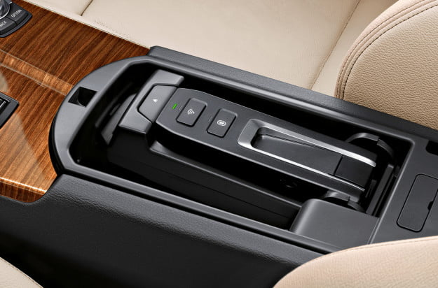 bmw iphone docking system