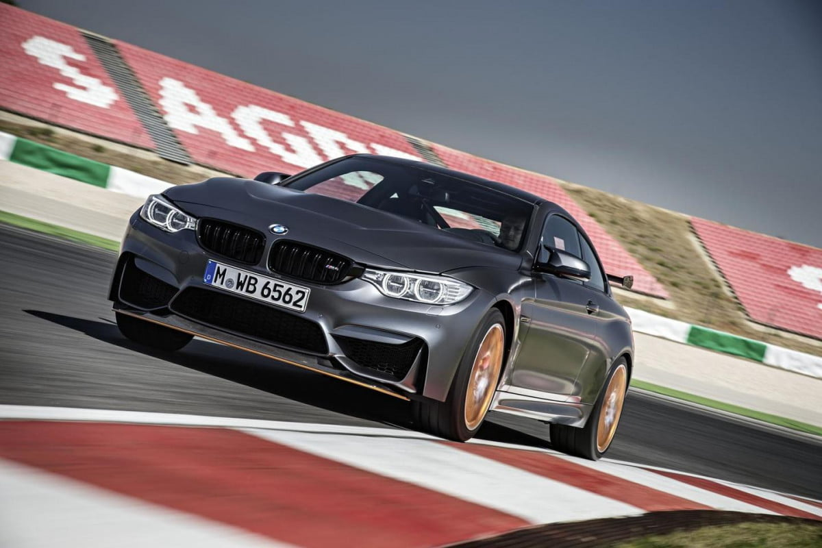 bmw will build its m  gts at the rate of just five units per day front track