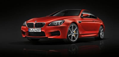bmw m6 competition pack front angle