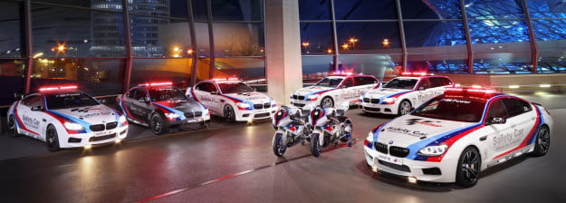 BMW MotoGP safety fleet