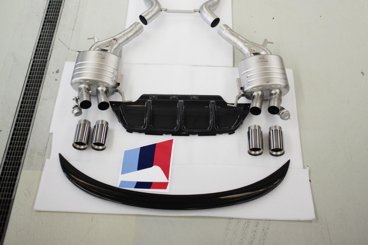 This special Performance Exhaust System will bring the noise.