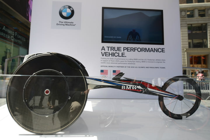 road to rio new york city bmw racing wheelchair