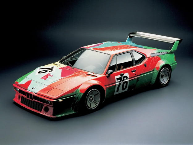 bmw warhol art M1