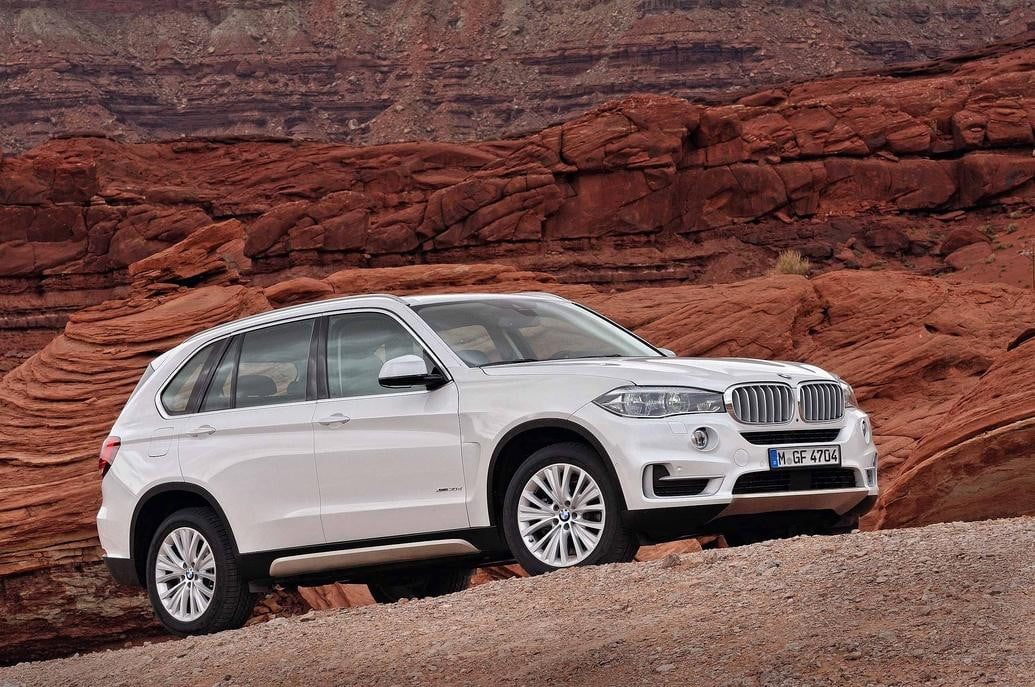 bmw x  full size suv reportedly development gets more power and tech but not style