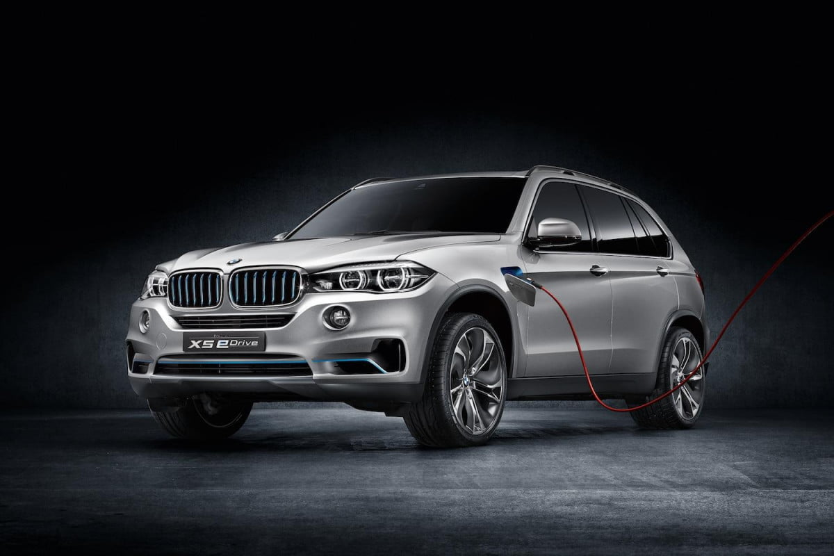 bmw goes electric x  phev is the first in entire line of plug ins
