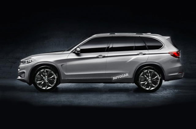 bmw finally confirms the x  full size suv render