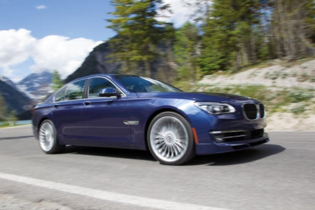 2013 BMW Alpina B7 motion view